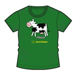 John Deere Infant Tee Moo-Cow on Green