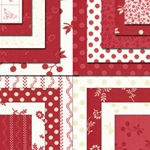 Redwork Renaissance Fat Quarter Bundle, Chloe's Closet by Moda