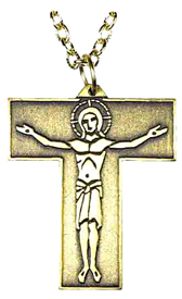 Tau Cross Pendant -14K Gold | The Catholic Company