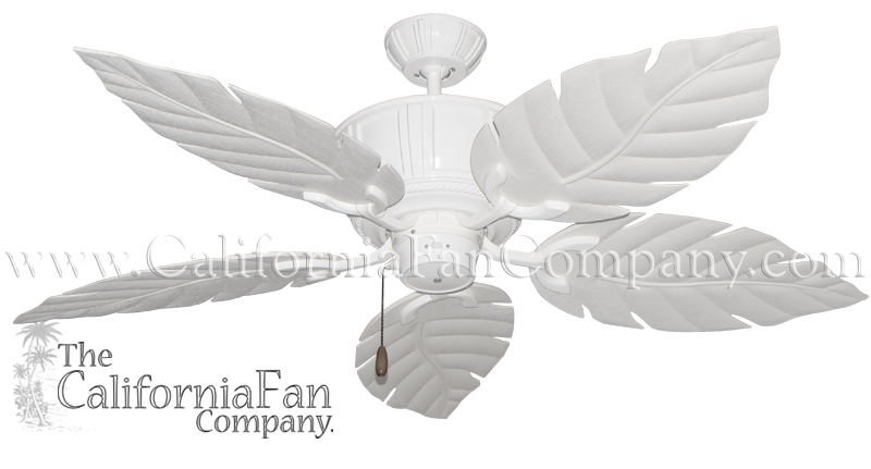 Ceiling fans leaves palm leaf ceiling fans from the tropical ceiling fan company aloadofball Images
