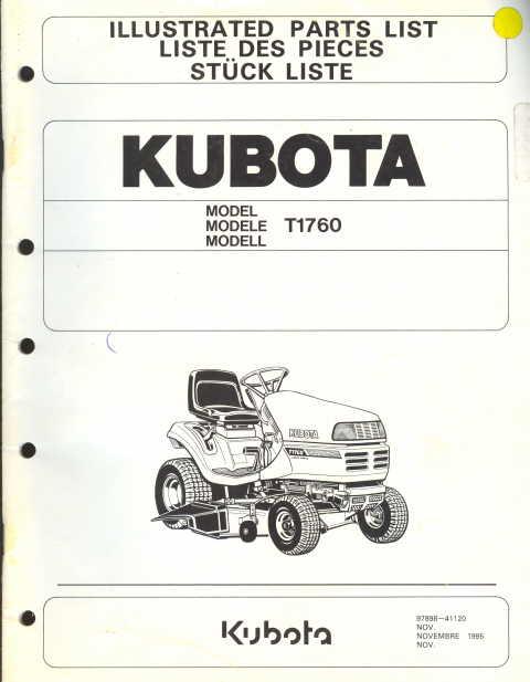 Kubota Lawn Mower Parts : Kubota t lawn mower belt diagram tractor