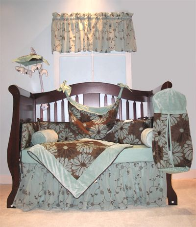 Baby  Crib Bedding Sets on Cocoa 4 Pc Baby Crib Bedding Set   Monstermarketplace Com