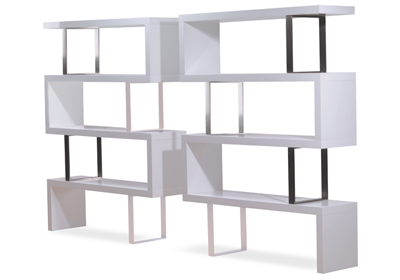 Pearl Bookcase by Modloft MD-105 Modern Bookcase Modloft