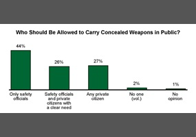 Should Any Citizen Who Does Not Have a Criminal Record Be Permitted to Carry a Concealed Weapon?