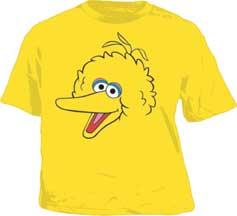 Sesame Street Big Bird Toddler T-Shirt | Funny Clothing For Baby ...