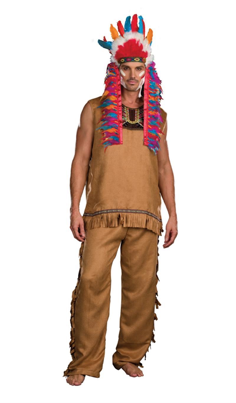 indian halloween costume ideas on Chief Big Wood Indian Halloween Costume Monstermarketplace Com  sc 1 st  halloween costume ideas for couples & halloween costume ideas for couples: Indian Halloween Costume Ideas