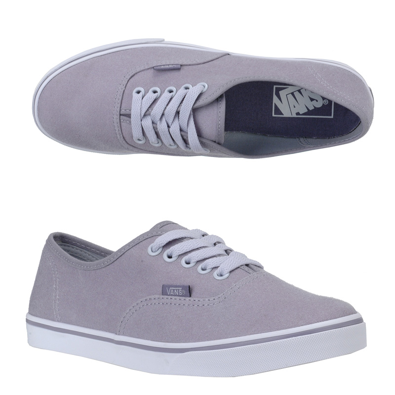 Vans Womens Authentic Lo Pro (Twill) Minimal Grey