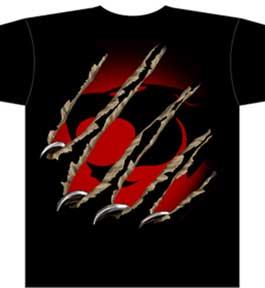 Thundercats Clothing on Thundercats Logo Ripping Throu Mens Tee1   Monstermarketplace Com
