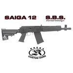 Saiga 12 Short Barrel Shotgun, Semi-Auto