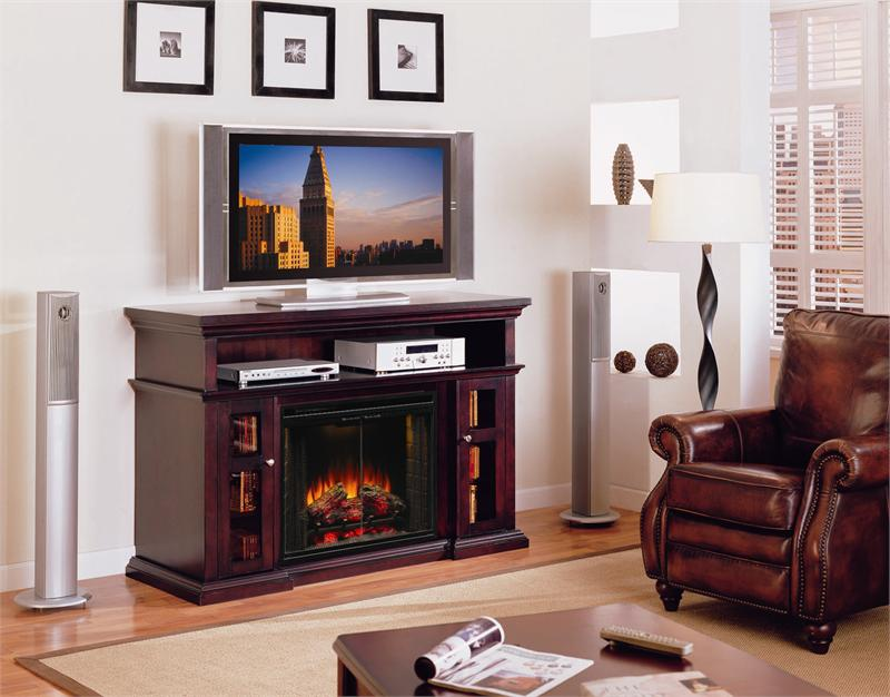 Gas Fireplace Cabinet