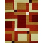 Modern geometric contemporary area rug - TheFind