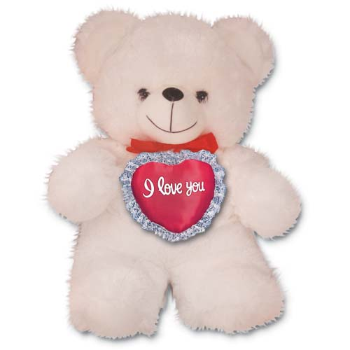 "3074V - Wholesale Teddy Bears - 19"" Valentine Bear"