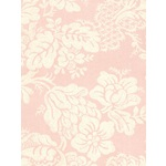 LIGHT PINK, CREAM DAMASK WALLPAPER - A513F - DA2391