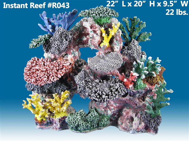 Pin artificial coral reefs on pinterest for Artificial coral reef aquarium decoration inserts