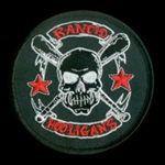 Rancid Hooligans Woven Patch