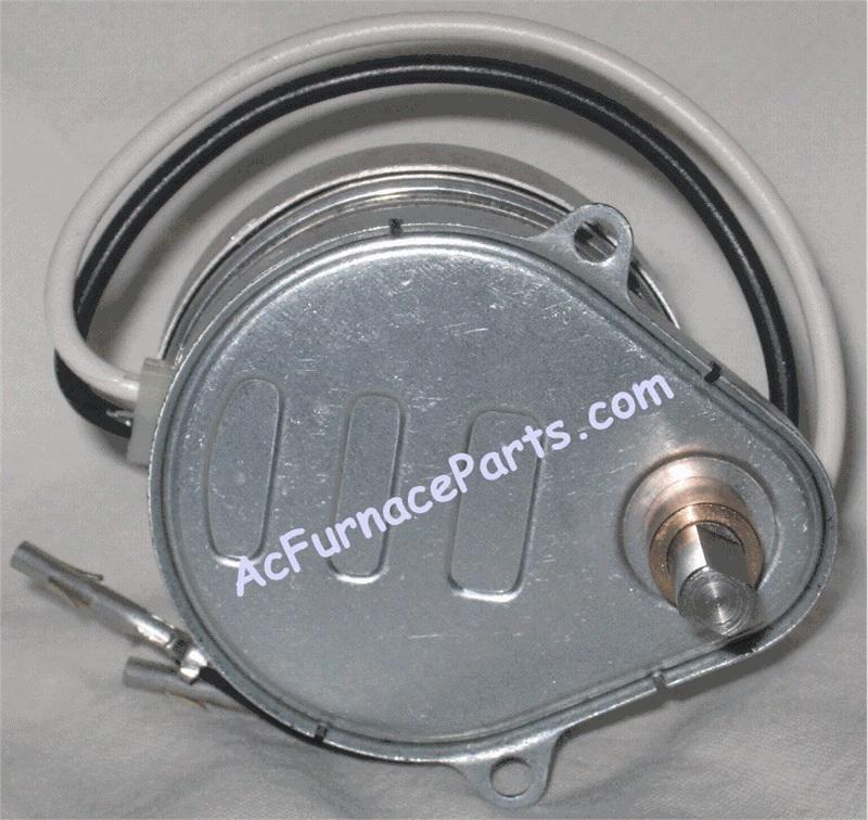 Furnace damper for Zone damper motor repair
