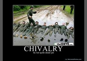 chivalrous people