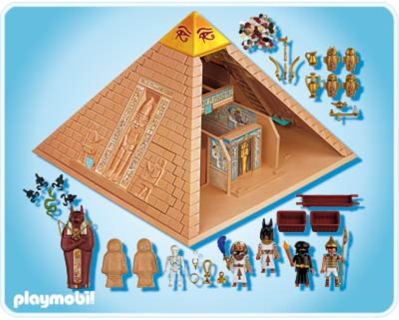 Egyptian pyramids school projects related keywords for Playmobil basteln