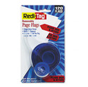 Redi-Tag Arrow Message Page Flags Please Sign &amp; Return Red 120/Refillable Dispenser RTG81344