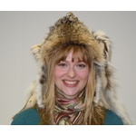 Bobcat Fur Mountain Man Hat