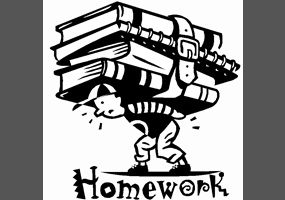 Debate topic about homework
