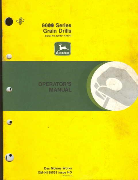 john deere 8300 tractor manual