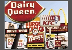 How should i start my persuassive essay? Its about if schools should offer fast food options?