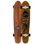 "Arbor 45"" Koa Blunt Longboard Skateboard Deck - 2011"