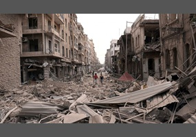 Aleppo destruction, From GoogleImages