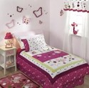Raspberry Swirl Twin Bedding by Lambs &amp; Ivy (00084122067752)