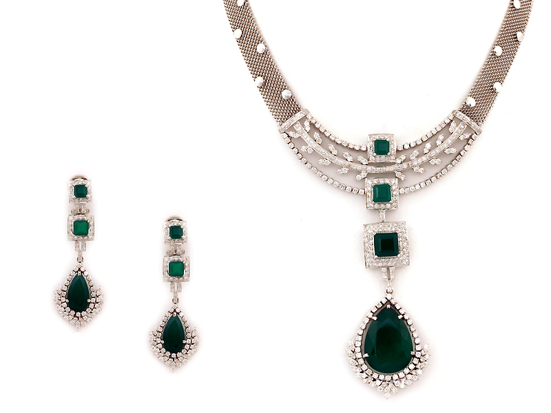 Indian Artificial Jewelry Sets Indian Diamond Jewelry Sets