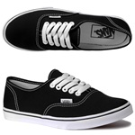 Vans Womens Authentic Lo Pro Black/True White