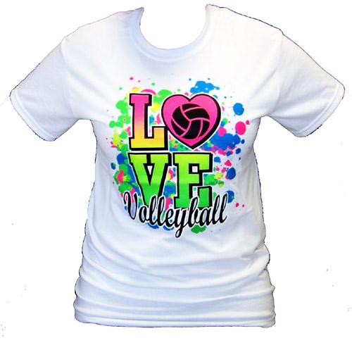 volleyball t shirt design ideas