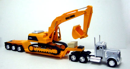 Scale Tractor Trailer Remote Control Die Cast Metal