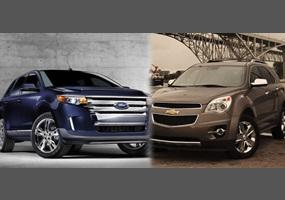 which is better the chevy equinox or the ford edge. Black Bedroom Furniture Sets. Home Design Ideas