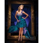 TONY BOWLS 2011 EVENING COLLECTION DRESS TBE11166