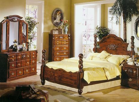 Country Pine Bedroom Sets