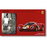 Fujimi 1/24 Scale 1967 Ferrari 330P4 24-Hours LeMans Race Car Model Kit