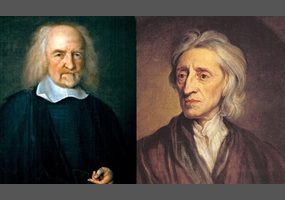comparison of hobbes and lockes political philosophies essay Locke and hobbes both share a vision of the social contract as instrumental in a state's political stability however, their respective philosophies were informed by a starkly.