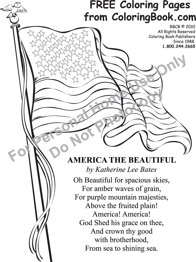 Free Printable Patriotic Coloring Pages Puzzles