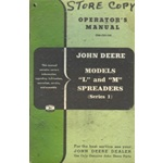 John Deere model L, M, manure spreader series 1