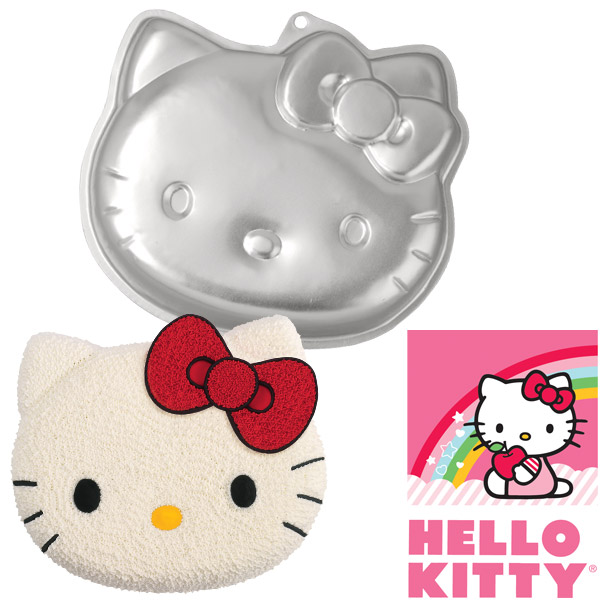 Cool Hello Kitty Wilton Cake In Pan