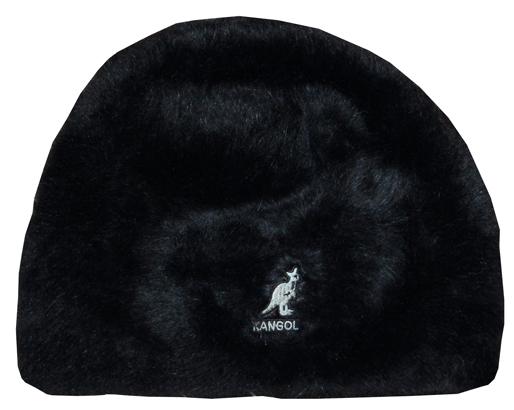 Womens Kangol Furgora Stretch Skull Cap - Black