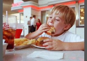Fast food should be allowed in school?