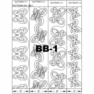 Butterfly Quilt Block Pattern
