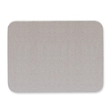 Quartet Oval Office Frameless Fabric Bulletin Boards, 4 x 3 Feet, Gray (7684G) (34138768433)