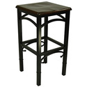 Ashley Furniture Industries Leilia Bar Stool (Brown Wood) (24785ES)
