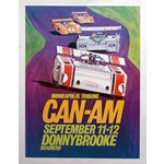Can-Am Donnybrooke-1971 original event poster