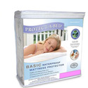 Protect A Bed Basic Cal King Waterproof Mattress Protector (California King Polyester) - BAS0159