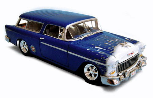 Limited Edition Street Rod Saturday Night Special 1955 Chevy Nomad Model